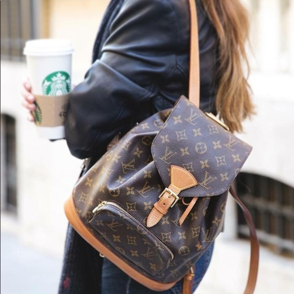 Louis Vuitton Bags Vintage Lv Montsouris Mm Monogram